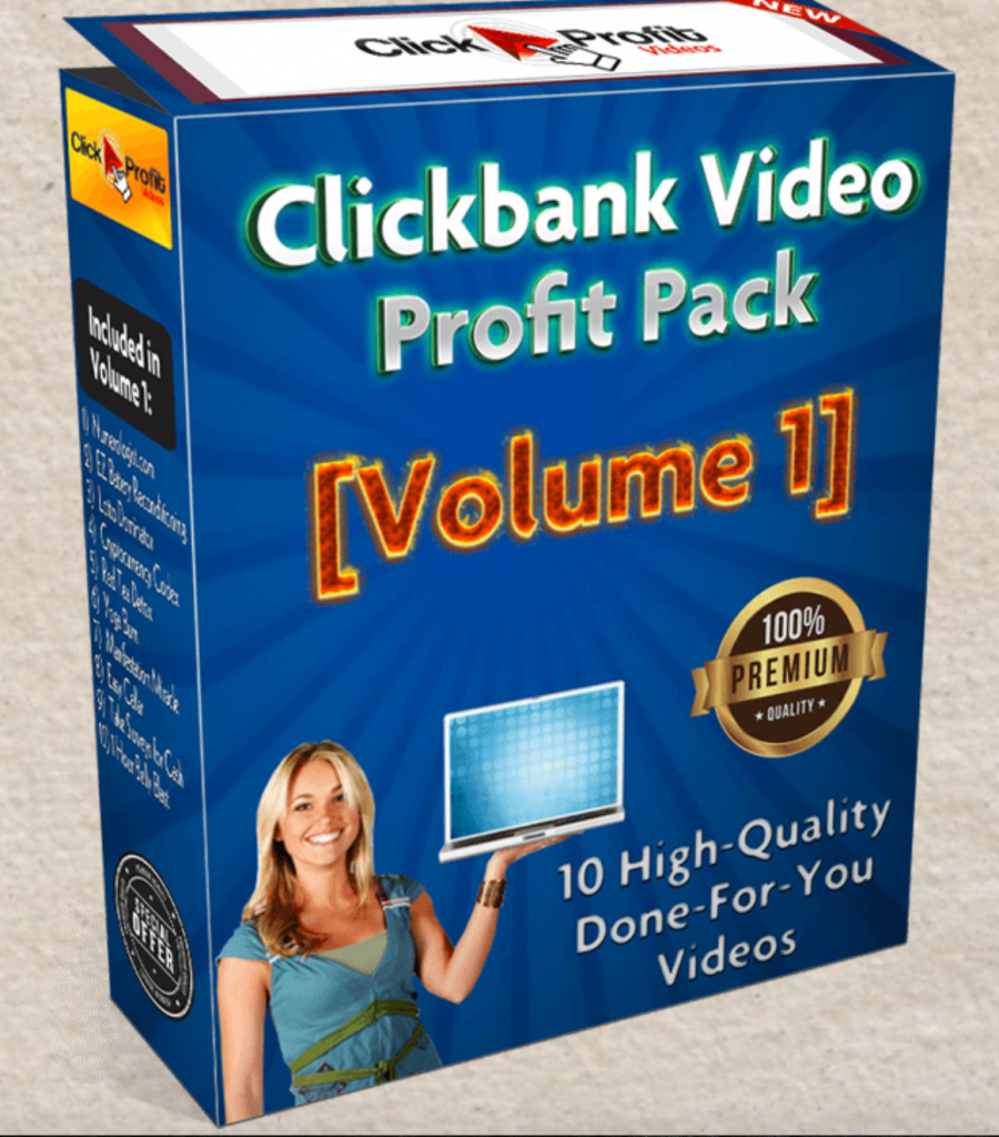 clickbank video profit pack review and bonuses
