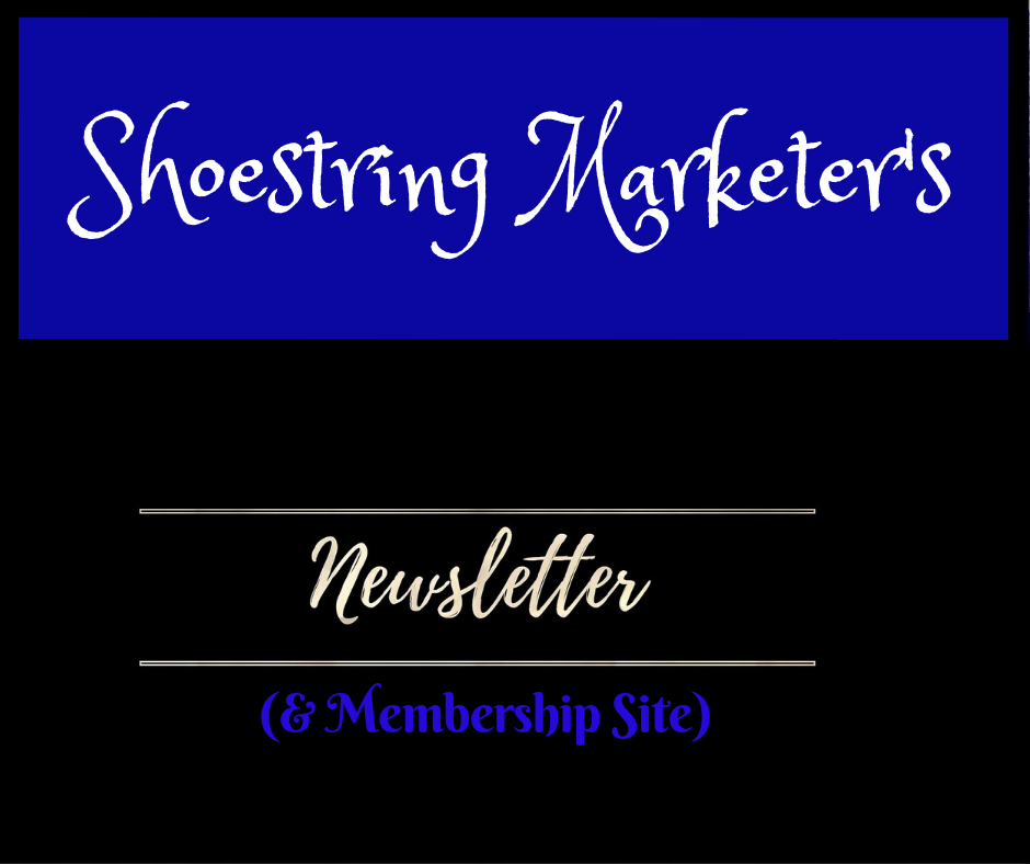 Shoestring Marketer's Newsletter