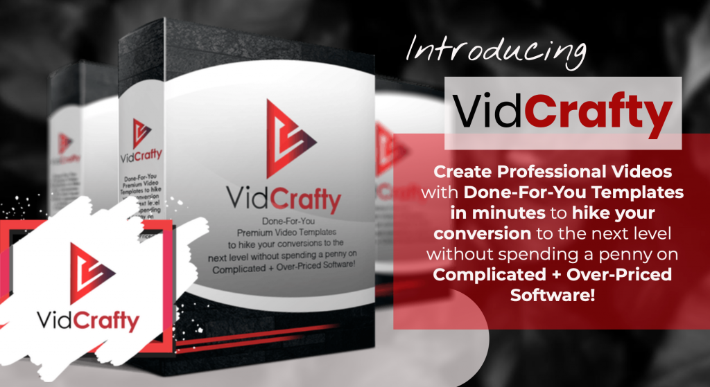 VidCrafty Review and Bonuses